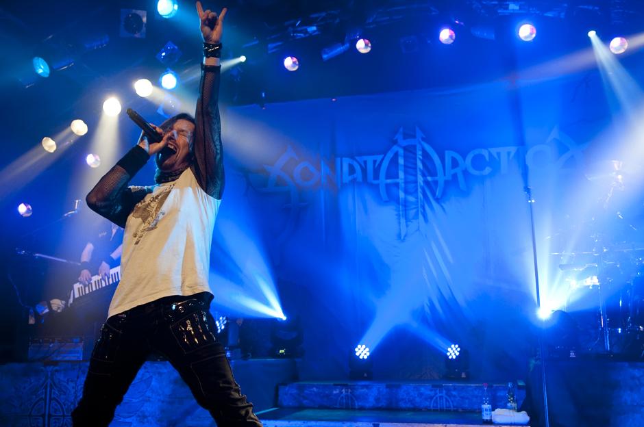 Sonata Arctica live, 14.04.2014, Hamburg