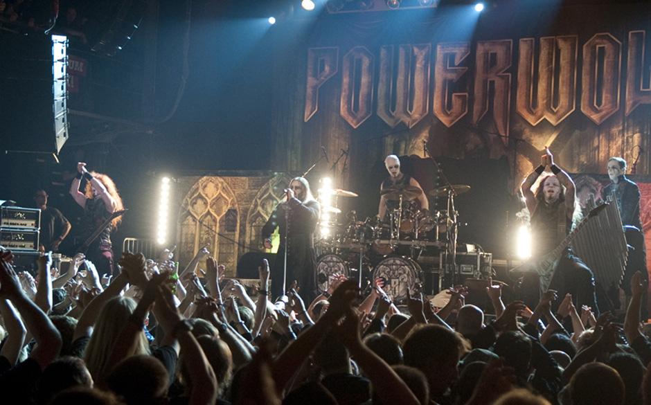 Powerwolf sorgten zusammen mit Kreator, While She Sleeps und Dust Bolt dafür, dass die METAL HAMMER AWARDS zur härtesten Pr