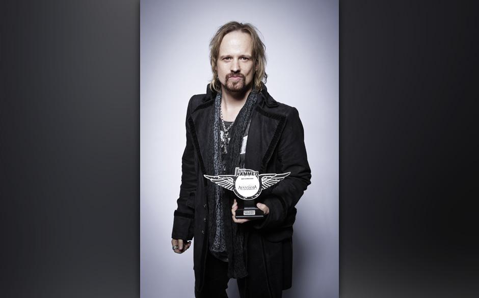 Tobi Sammet a.k.a. Avantasia durfte den Preis für die beste deutsche Band 2013 mit nach Hause nehmen.