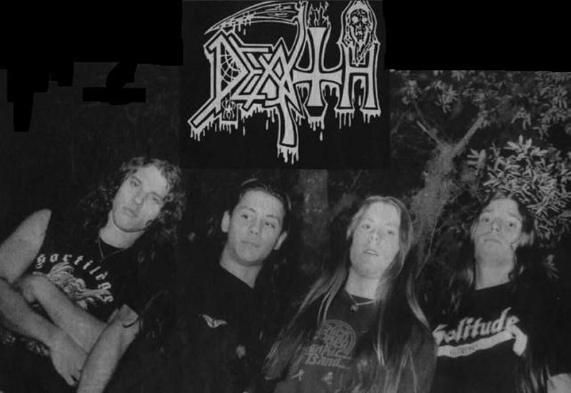 Death, Chuck Schuldiner, History-Pic