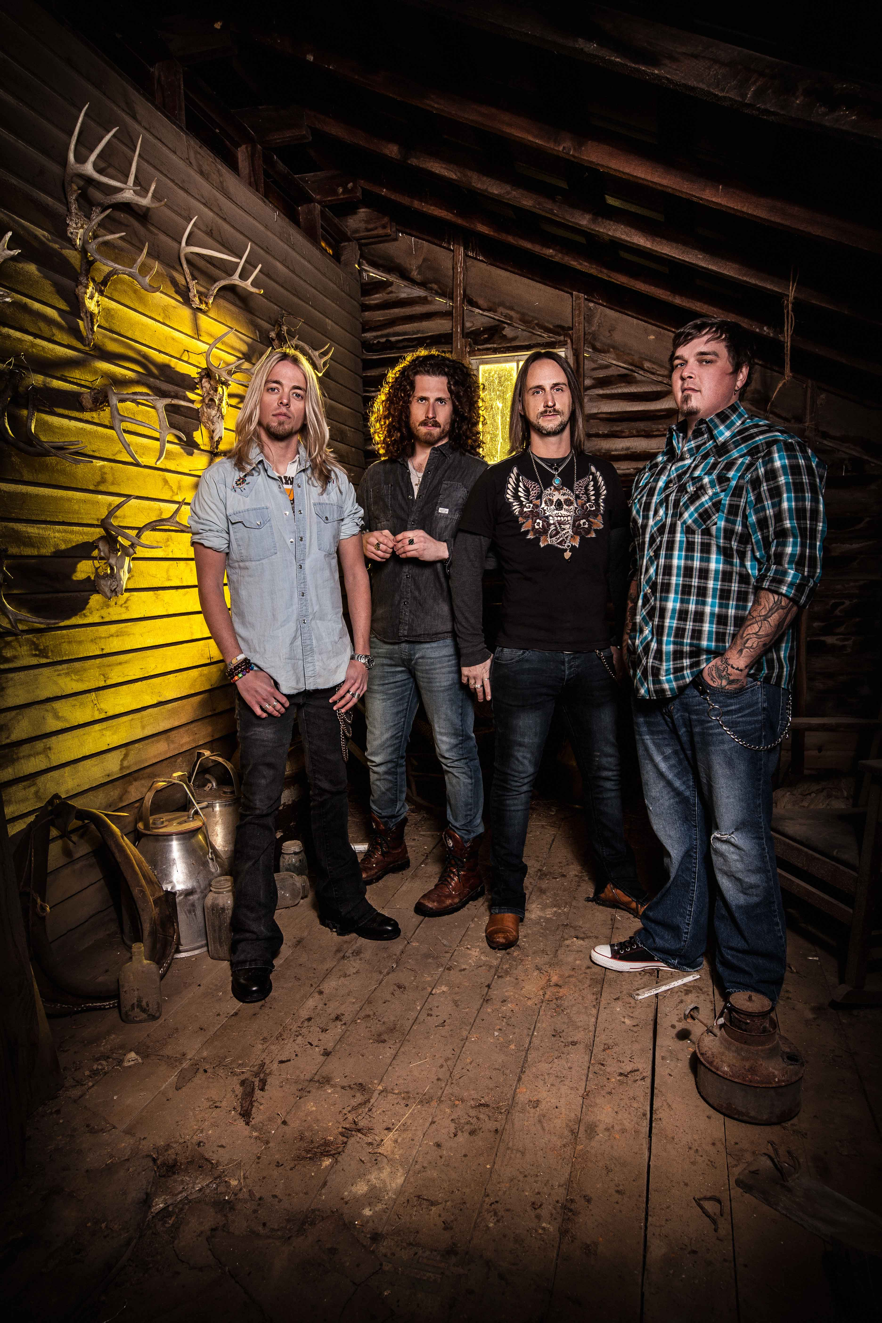 Black Stone Cherry 2014 Magic Mountain Official Shoot by Ash Newell