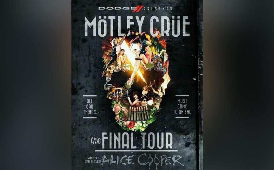 Mötley Crüe Abschieds-Tournee mit Alice Cooper