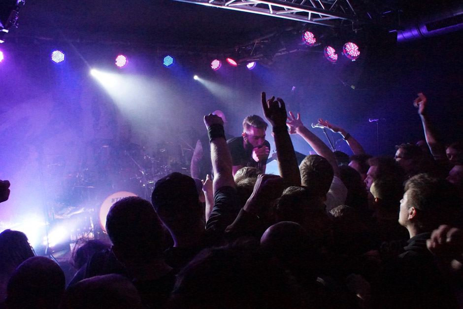 Caliban live, 24.01.2014, Berlin