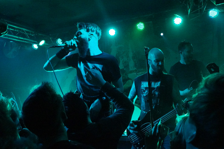 Caliban live, 24.01.2014, Berlin