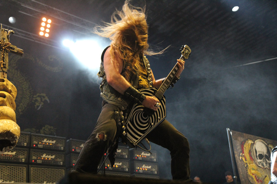 Black Label Society live, Earshakerday 2012