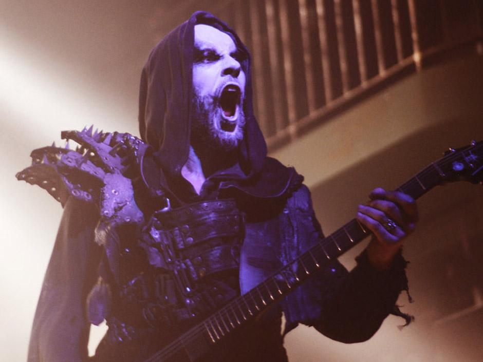 Nergal mit Behemoth live, 28.02.2014, Hamburg