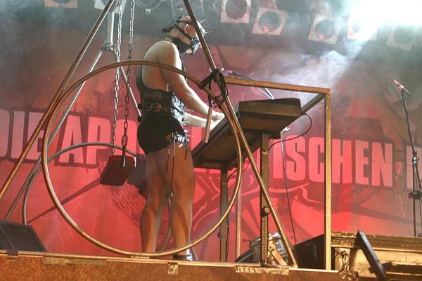 Die Apokalyptischen Reiter, live, 10.05.2012 München, Backstage
