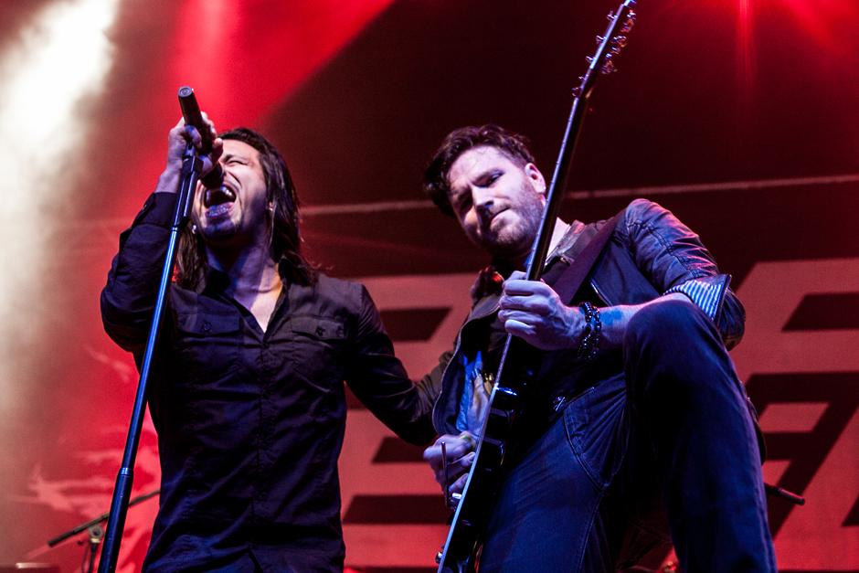 Pop Evil live, 21.03.2014, Wiesbaden