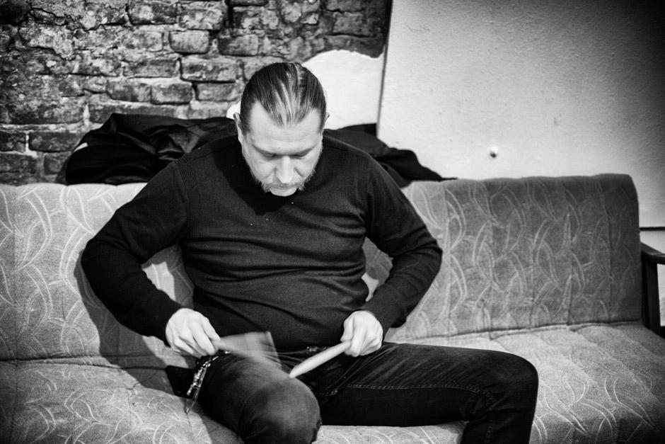Backstage bei Behemoth, Tour 2014