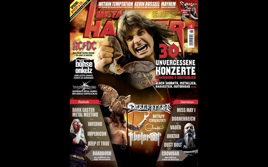 METAL HAMMER-Ausgabe Juni 2014