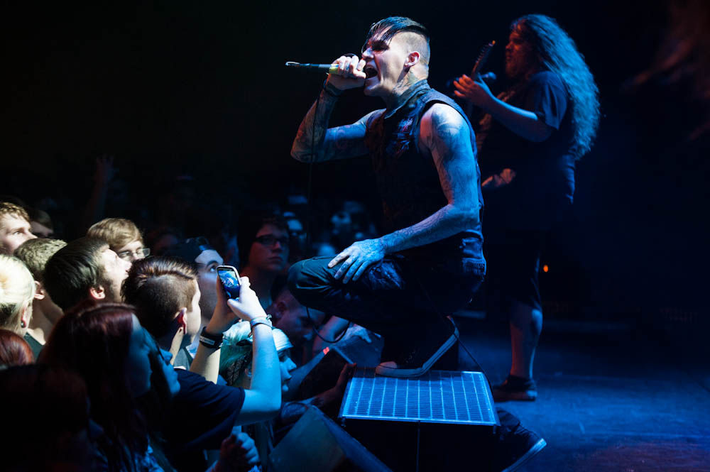 Carnifex live, Impericon Never Say Die! Tour, 26.10.2013, Essen
