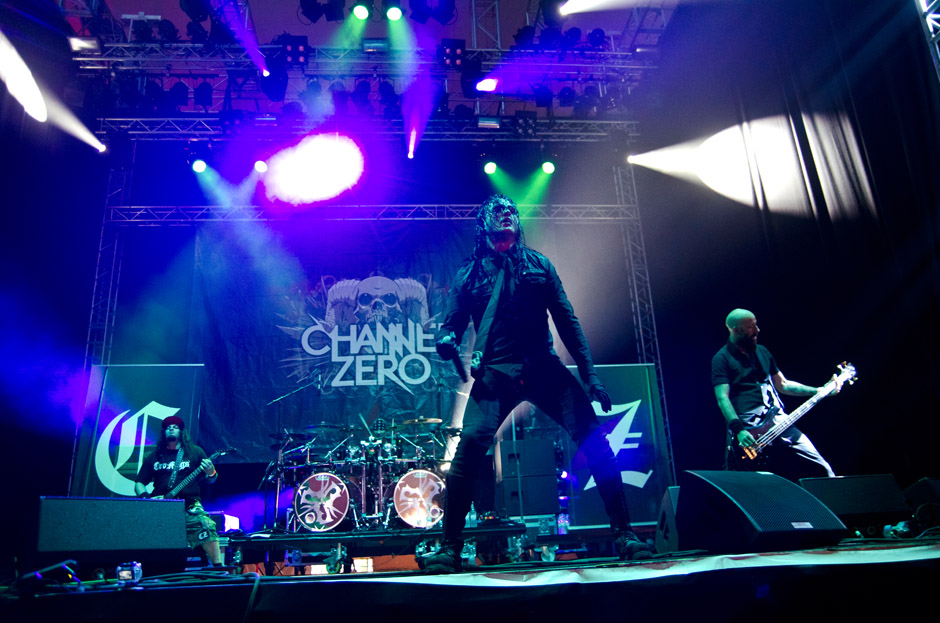 Channel Zero live, Wacken 2012, 02.08.2012
