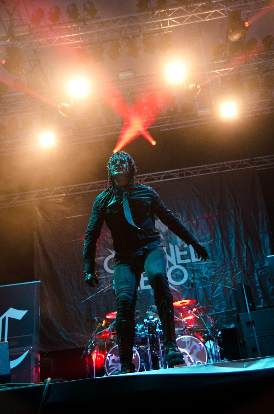 Channel Zero live, Wacken 2012, 02.08.2012