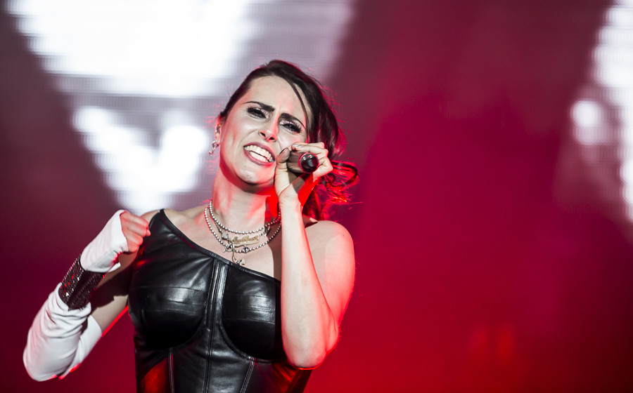 Within Temptation live, 18.04.2014, Frankfurt