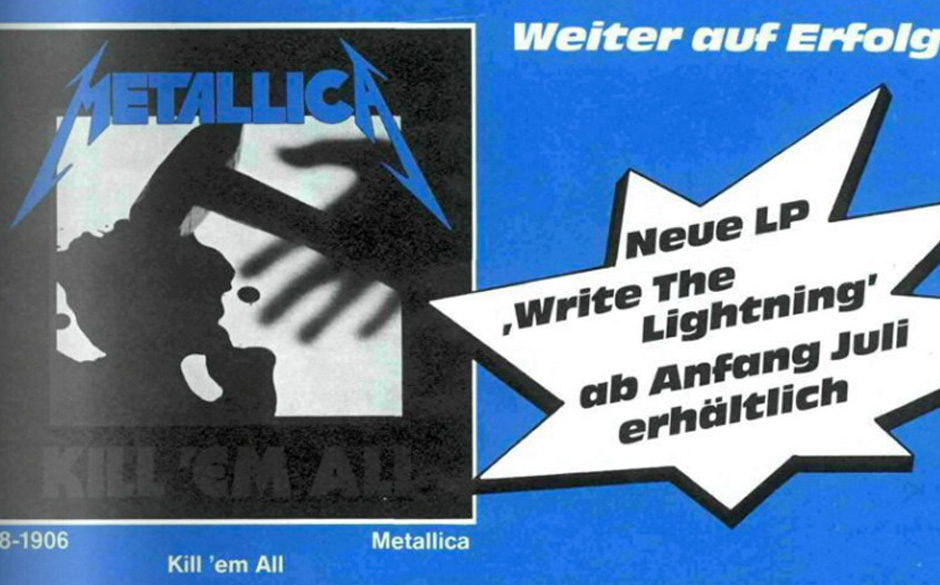 Die kultigste METAL HAMMER-Werbung aus den Achtzigern