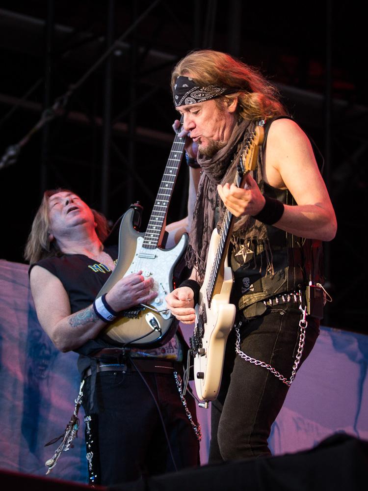 Iron Maiden live, FortaRock Festival 2014