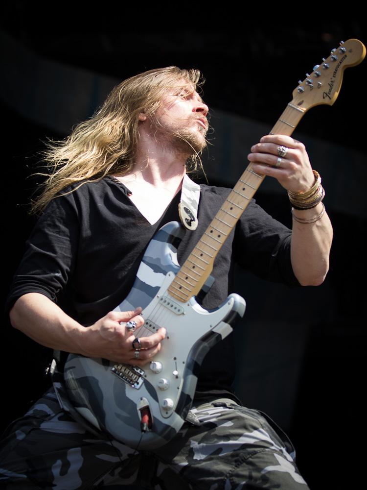 Sabaton live, FortaRock Festival 2014