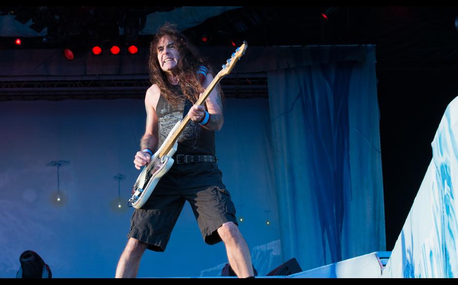 Die besten Fotos von Rock am Ring 2014: Metallica, A7X u.a. >>> Iron Maiden