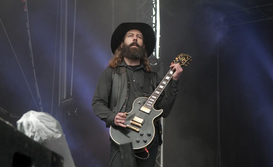 Solstafir live, Out & Loud Festival 2014 in Geiselwind