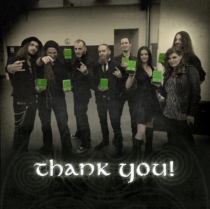 Eluveitie gewinnen Swiss Music Award 2014
