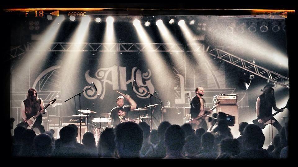 Sahg auf Tour 2014
