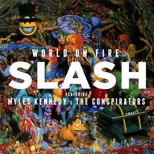 Slash - WORLD ON FIRE, 12.09.2014
