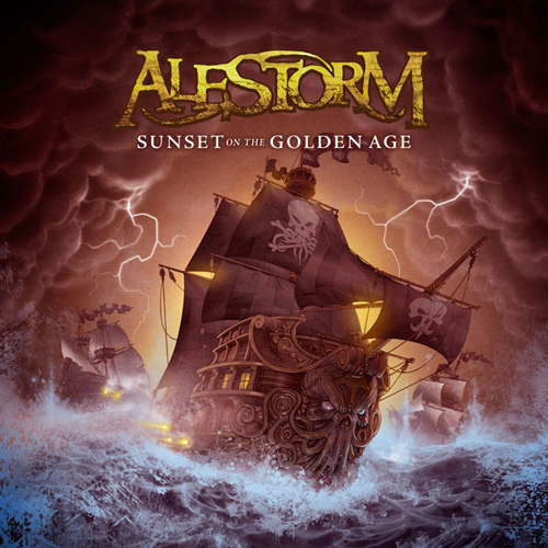 Alestorm - SUNSET ON THE GOLDEN AGE, 01.08.2014