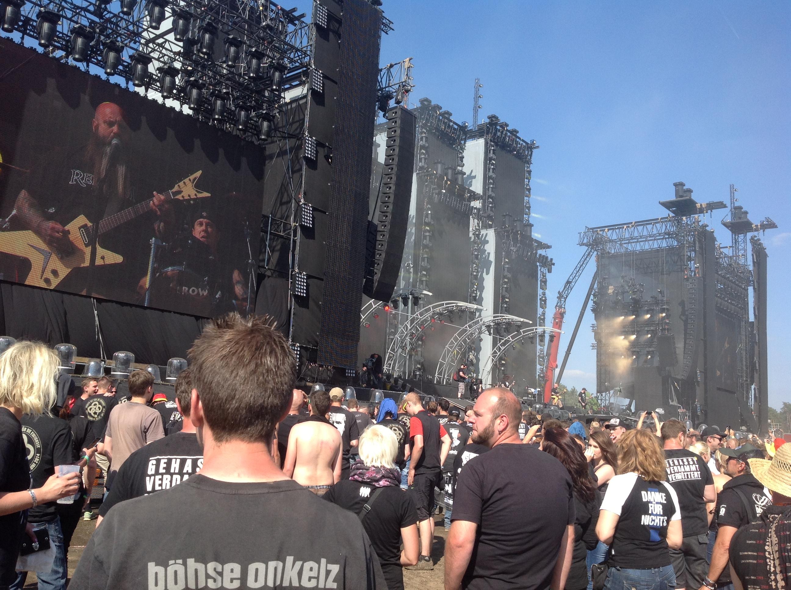 Crowbar live am Hockenheimring, 21.06.2014