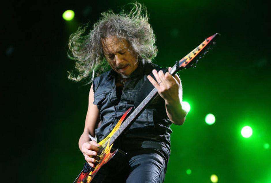 Metallica-Gitarrist Kirk Hammett