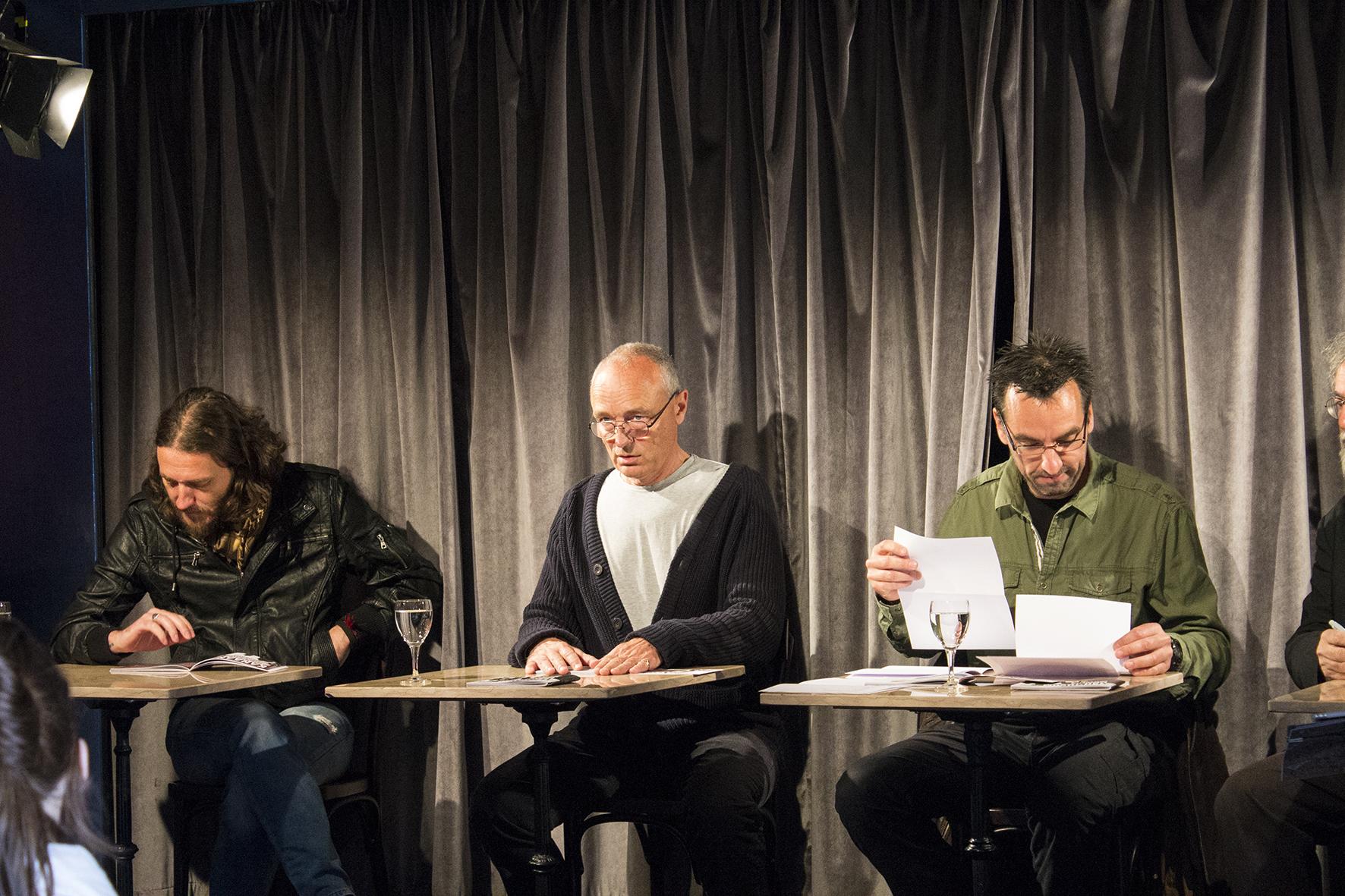 Orphaned Land-Frontmann Kobi Farhi und Intendant Walter Weyers