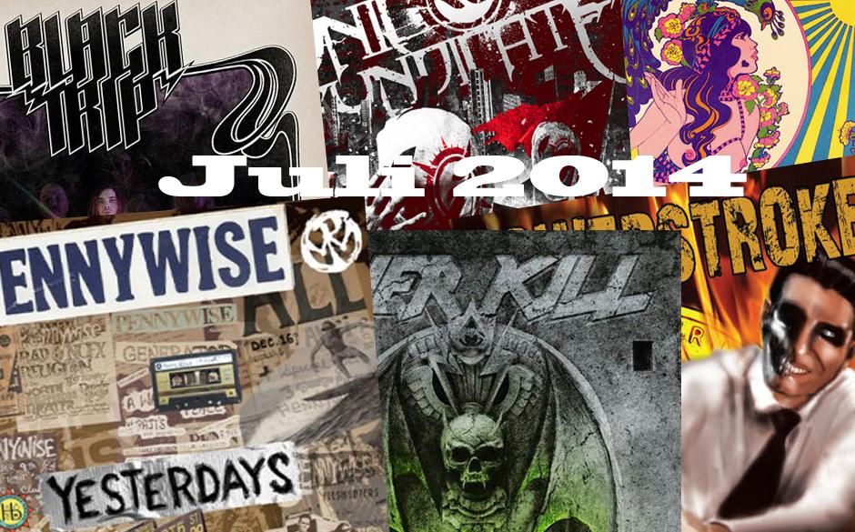 Seht euch hier an, welche Metal-Alben euch im Juli 2014 erwarten >>>