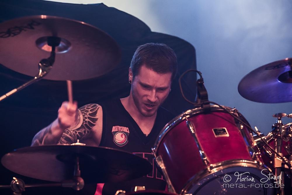 End Of Nothing live, 01.07.2014, Nürnberg: Rockfabrik
