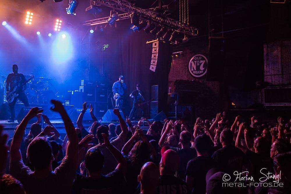 Hatebreed live, 01.07.2014, Nürnberg: Rockfabrik