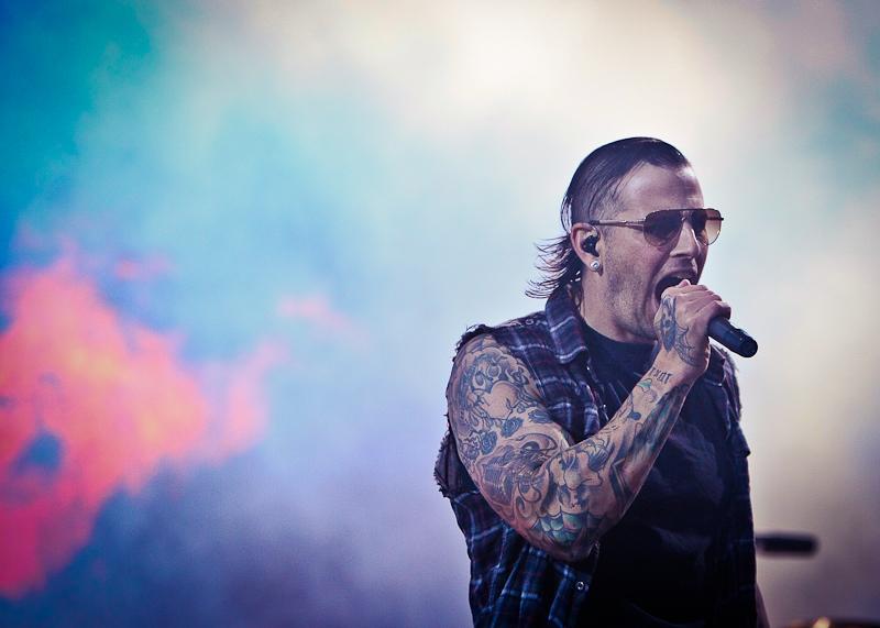 Avenged Sevenfold live, Nova Rock Festival 2014