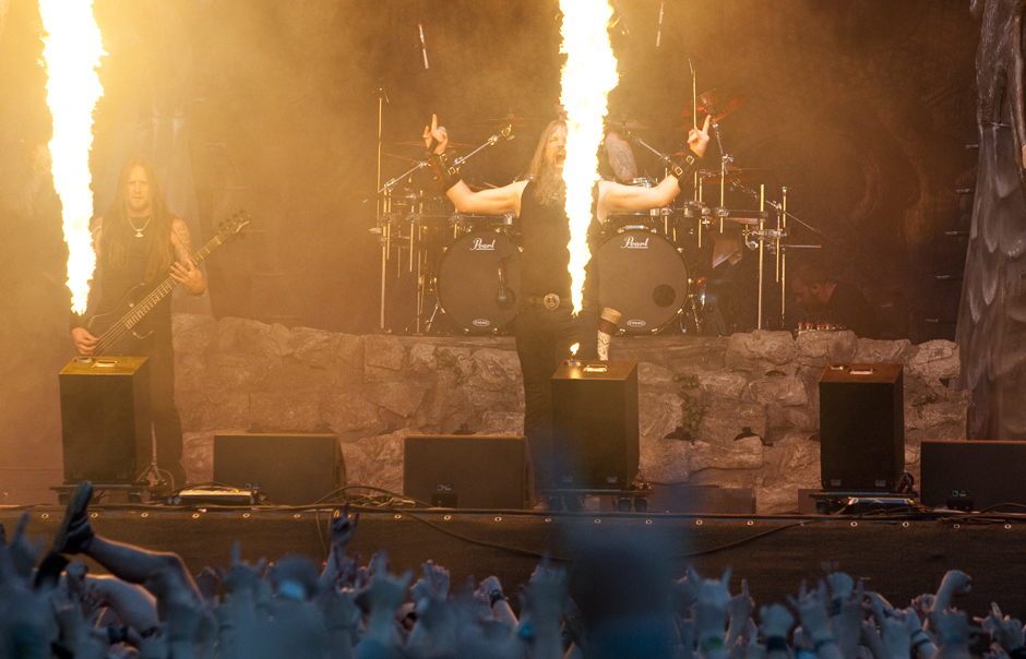 Amon Amarth, With Full Force 2014