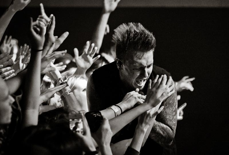 Papa Roach live 2013, München