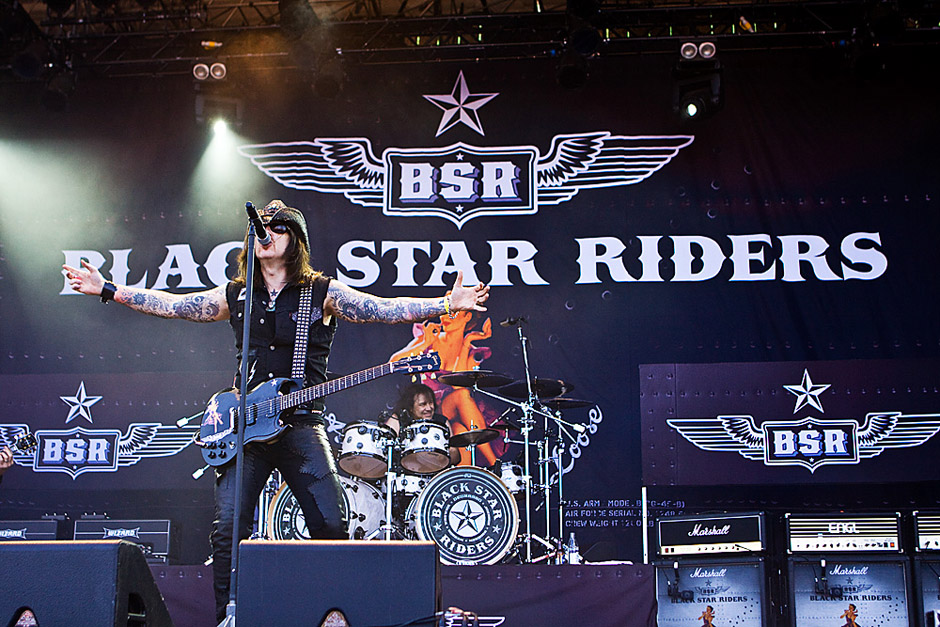 Black Star Riders live, Sweden Rock 2013