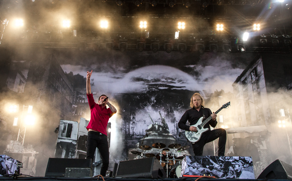 Heaven Shall Burn - Freitag, ab 16:45, True Metal Stage