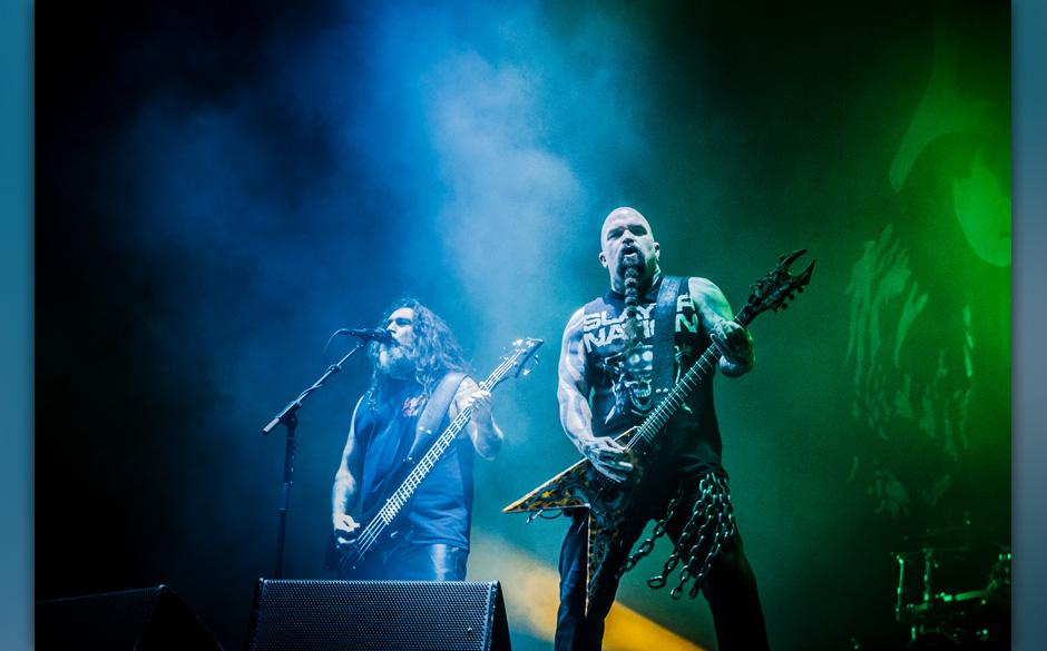 Slayer - Freitag, ab 22:30, True Metal Stage