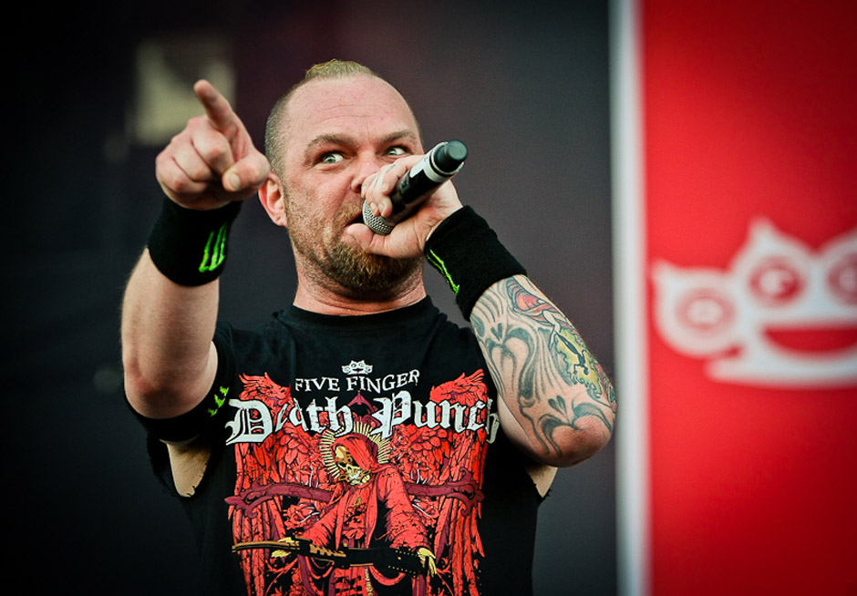 Five FInger Death Punch live, Nova Rock 2013