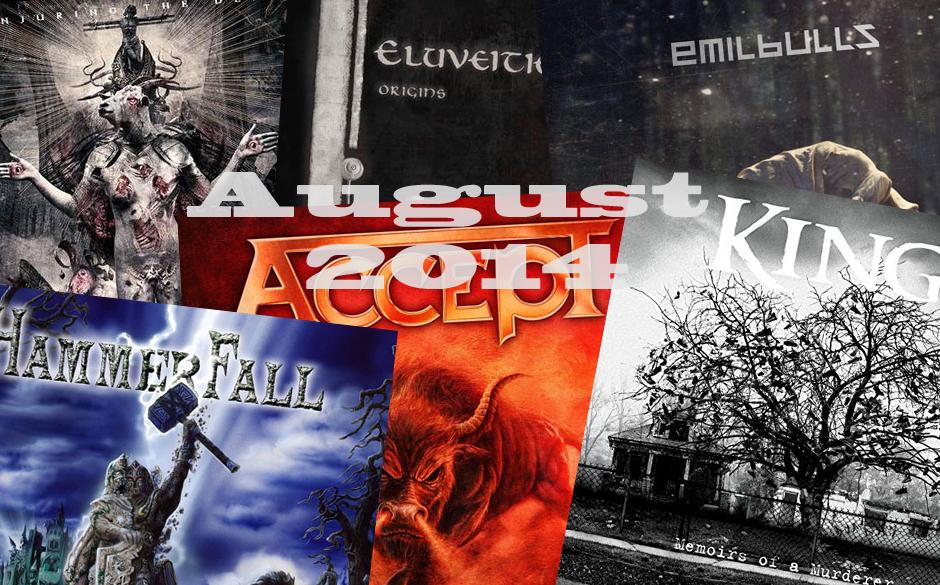 Die neuen Metal-Alben im August 2014 >>>