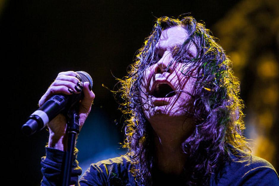 July 29, 2013 - Tampa, Florida, U.S. - WILL VRAGOVIC | Times .Ozzy Osbourne on stage as Black Sabbath rocks the MidFlorida Cr