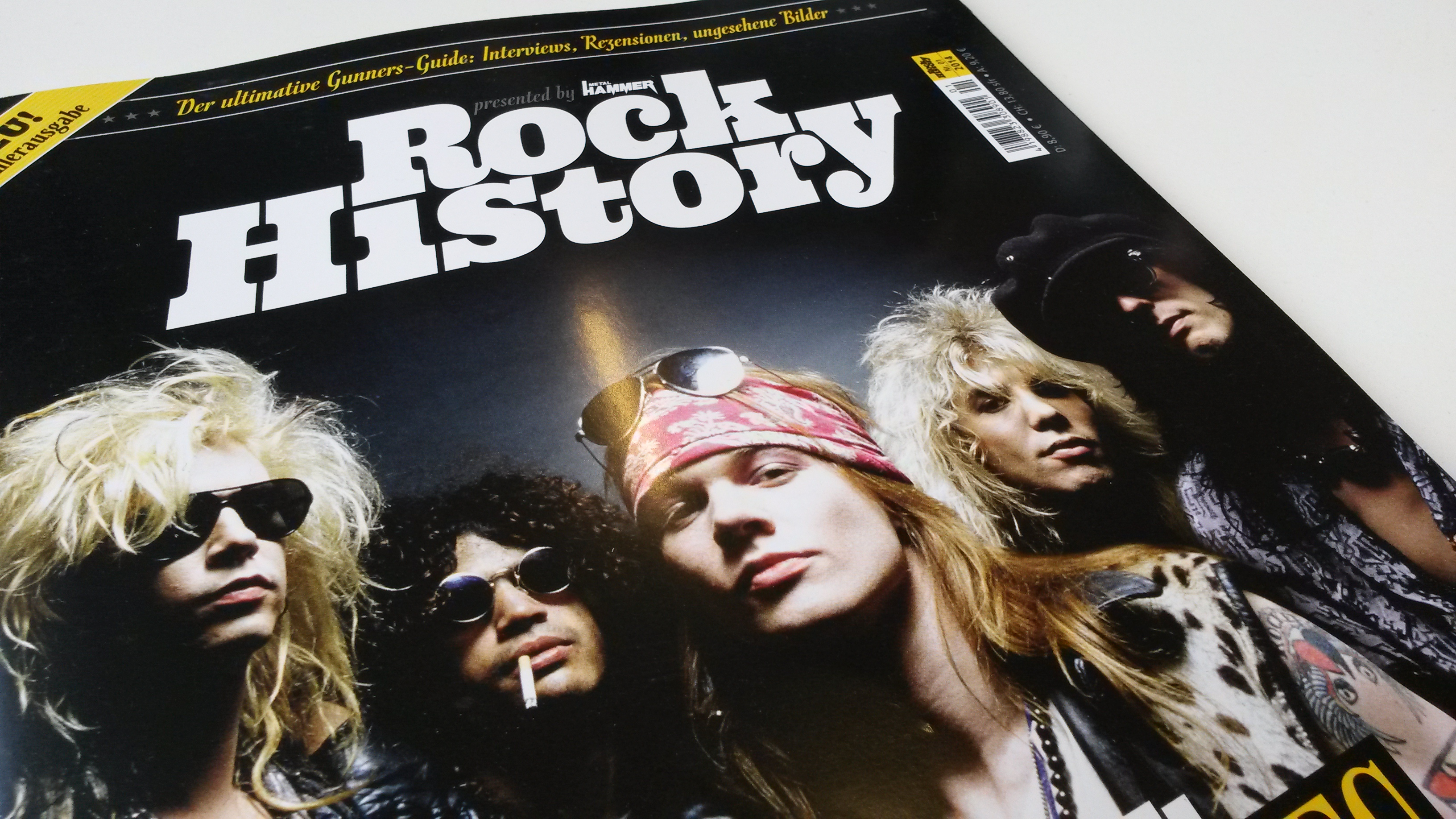 Guns N' Roses-Sonderheft ROCK HISTORY presented by METAL HAMMER