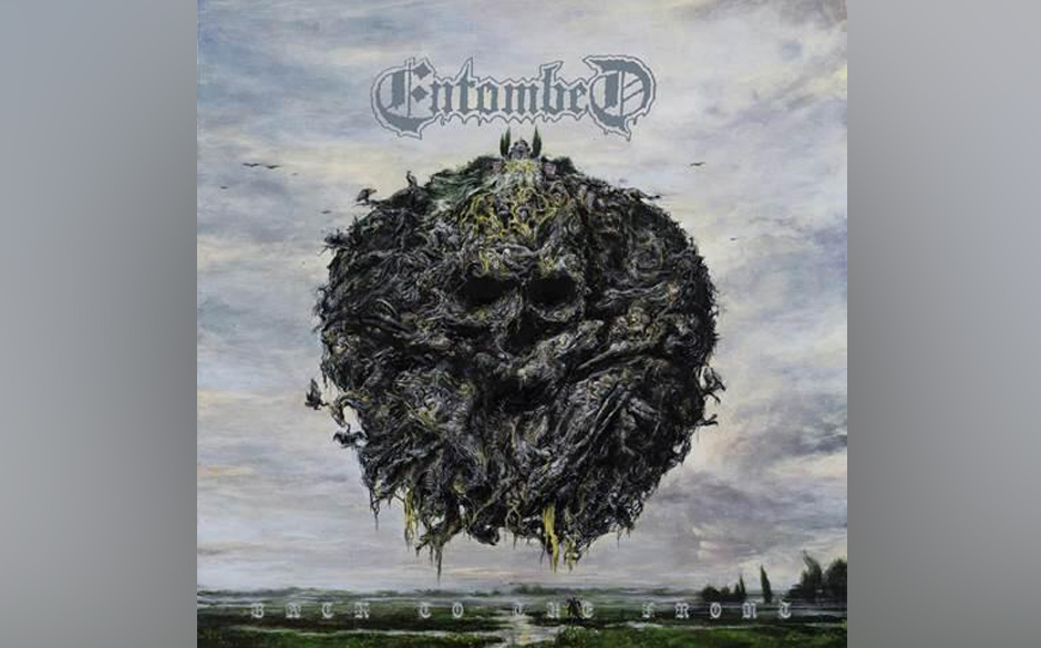 Entombed A.D. - Back To The Front: altes Artwork