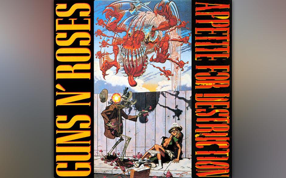 APPETITE FOR DESTRUCTION wurde bis heute weltweit über 30 Millionen Mal verkauft und ist das meistverkaufte Debütalbum in d
