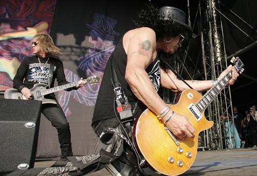 Slash live 2010