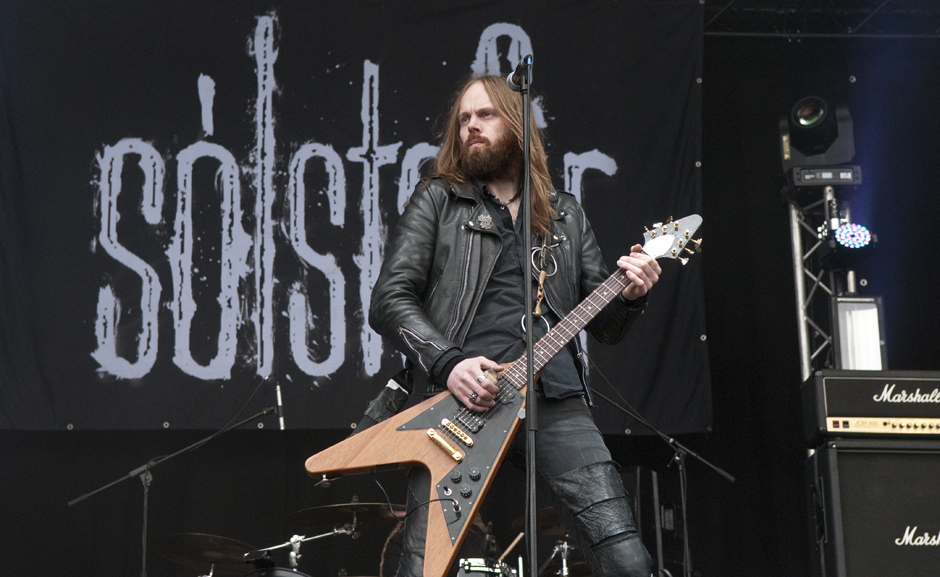 Solstafir live, Out & Loud Festival 2014 in Geiselwind