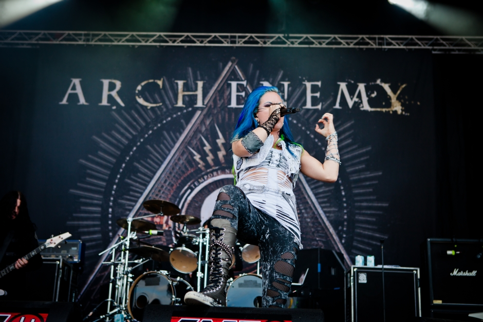 Summer Breeze 2014, Arch Enemy, A.Dujardin