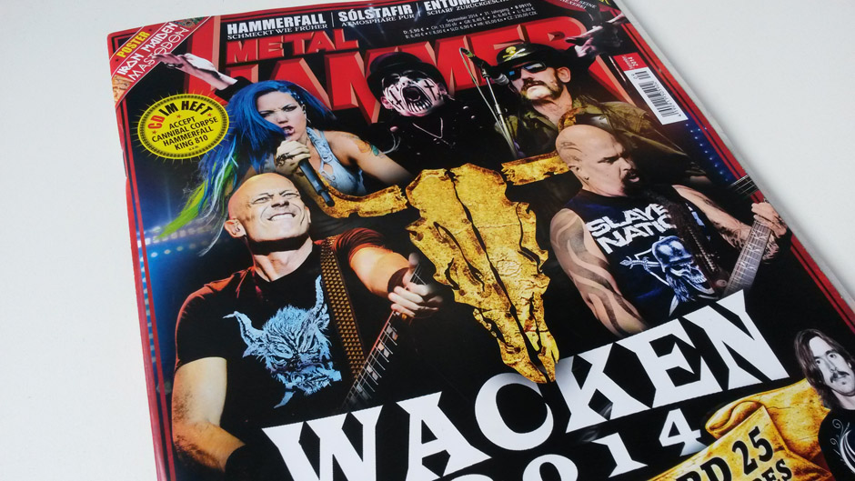 METAL HAMMER-Ausgabe September 2014