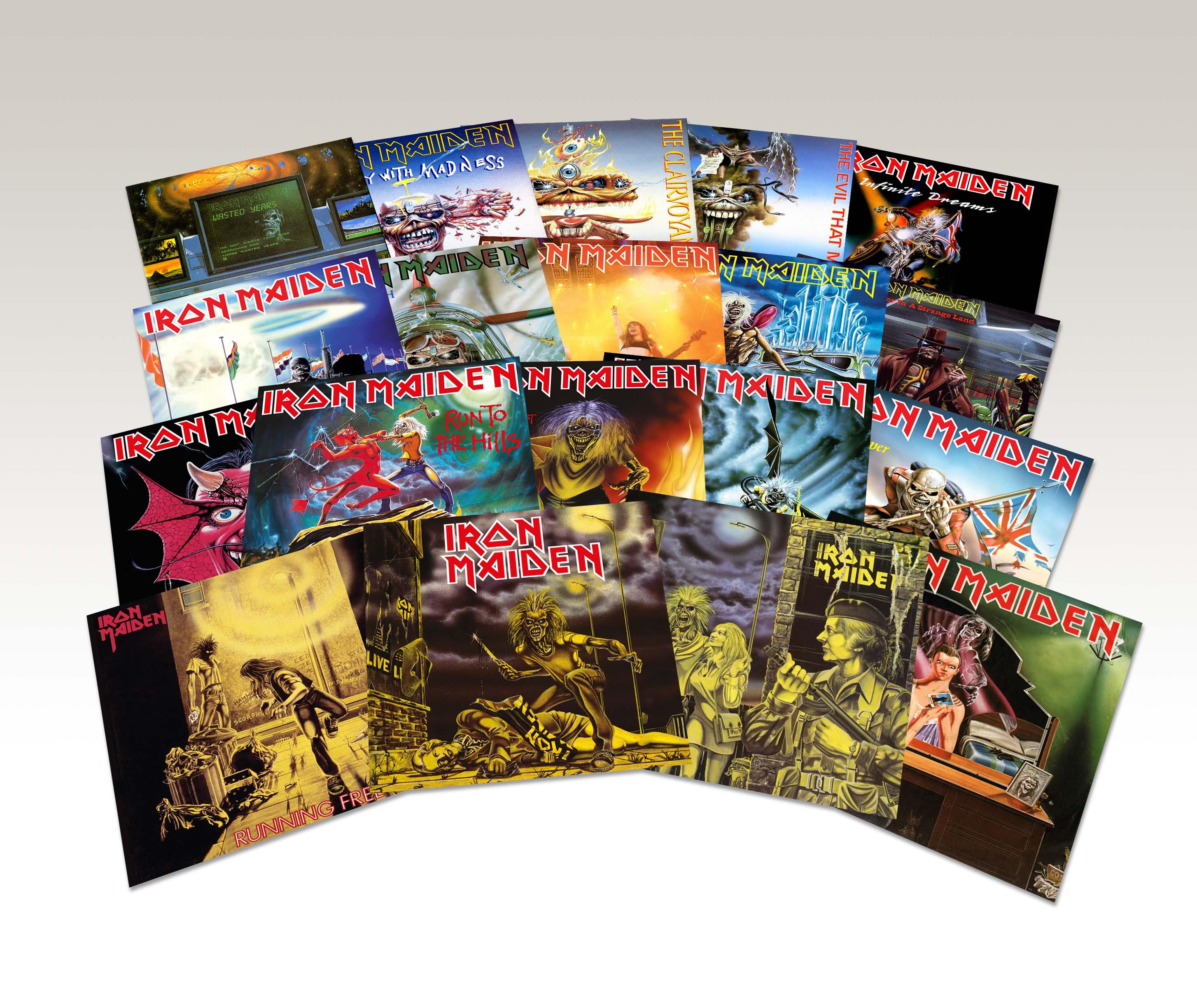 Iron Maiden auf Vinyl